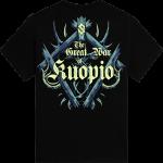 Kuopio Festival Sabaton Exclusive Tshirt Backside