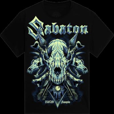 Kuopio Festival Sabaton Exclusive Tshirt Frontside