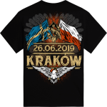 Mystic Festival Sabaton Exclusive Tshirt Backside