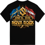 Novarock Festival Sabaton Exclusive Tshirt Backside