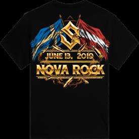 Novarock Festival Sabaton Exclusive Tshirt Backside