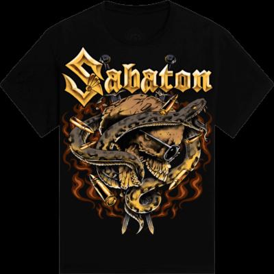Novarock Festival Sabaton Exclusive Tshirt Frontside