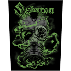 The Attack of the Dead Men Sabaton Back Patch