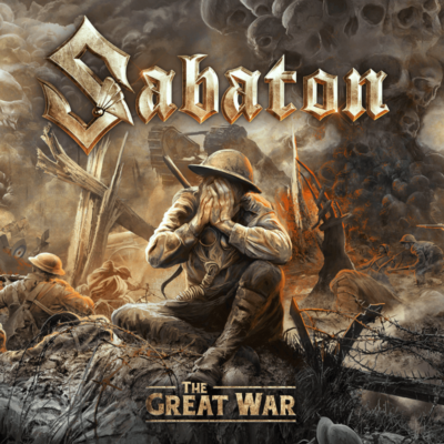 The Great War Sabaton CD Front Cover