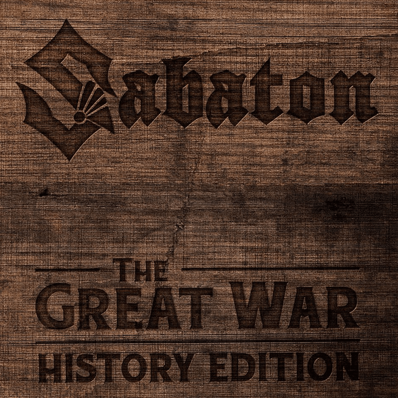 The Great War History Edition Sabaton CD-digi