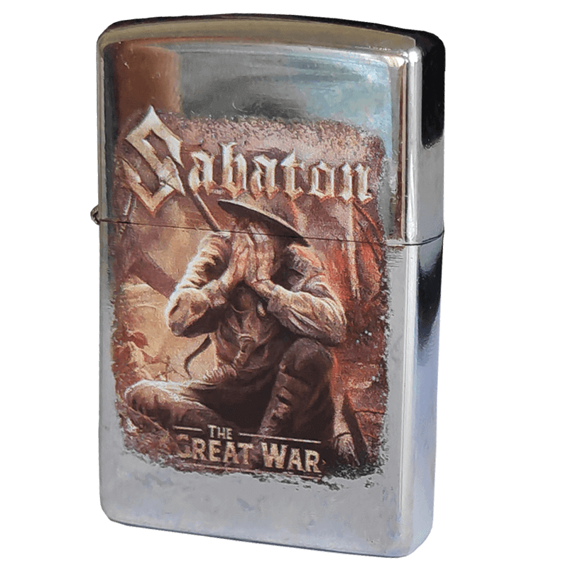 The Great War Sabaton Lighter Frontside