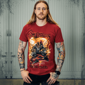 The Red Broden Sabaton T-shirt Frontside Hannes
