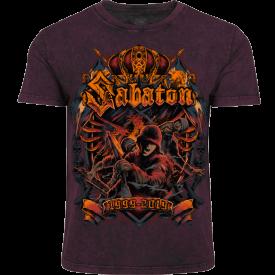 20th Anniversary Sabaton Exclusive T-shirt Frontside