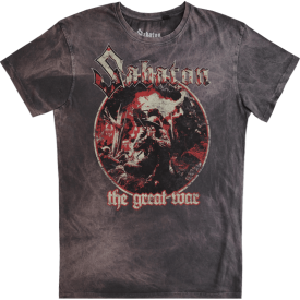 Crying Soldier Sabaton T-shirt Vintage Collection Frontside