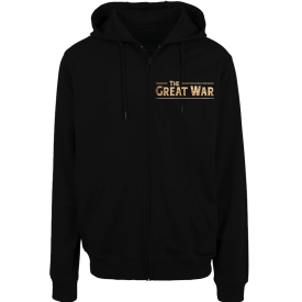 Crying Soldier Zip Hoodie Sabaton Frontside