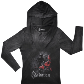 In Flanders Fields Sabaton Hoodie Women Vintage Collection Frontside