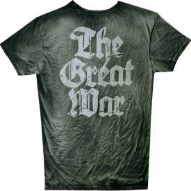The Great War Sabaton T-shirt Vintage Collection Backside