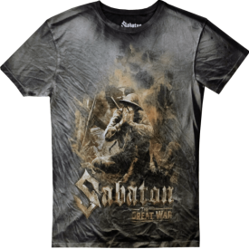 The Great War Sabaton T-shirt Vintage Collection Frontside