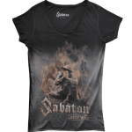 The Great War Sabaton T-shirt Women Vintage Collection Frontside