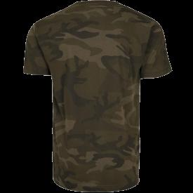 War and Peace Eagle Sabaton Camo T-shirt Backside