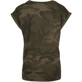 War and Peace Eagle Sabaton Camo T-shirt Women Backside