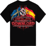 Download Festival Sabaton Exclusive T-shirt Backside