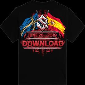 Download Festival Sabaton Exclusive T-shirt Backside