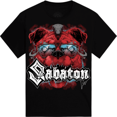 Download Festival Sabaton Exclusive T-shirt Frontside