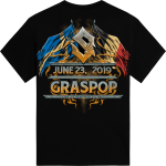 Graspop Festival Sabaton Exclusive Tshirt Backside
