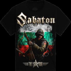 Hills of Rock Bulgaria 2018 Sabaton Exclusive T-shirt Frontside