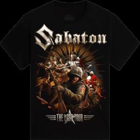 Soldiers of the Last European Tour 2017 Sabaton T-shirt Frontside