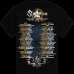 The Last European Tour 2017 Sabaton T-shirt Kids Backside