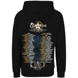 The Last European Tour 2017 Zip Hoodie Sabaton Backside