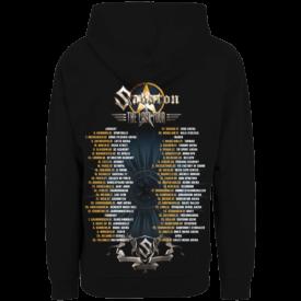 The Last European Tour 2017 Zip Hoodie Sabaton Backside