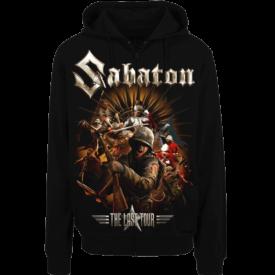 The Last European Tour 2017 Zip Hoodie Sabaton Frontside