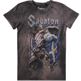 War Eagle Sabaton T-shirt Vintage Collection Frontside
