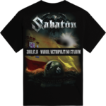 Madrid 2018 Sabaton Exclusive T-shirt Backside