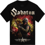 Madrid 2018 Sabaton Exclusive T-shirt Frontside