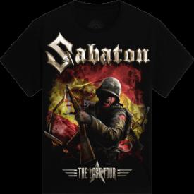 Madrid 2018 Sabaton Exclusive T-shirt Frontside