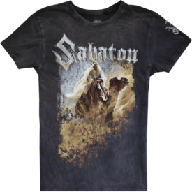 Seven Pillars of Wisdom Sabaton T-shirt Frontside