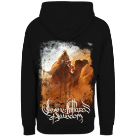 Seven Pillars of Wisdom Sabaton Zip Hoodie Backside