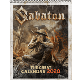 The Great Calendar 2020 Sabaton Front Cover
