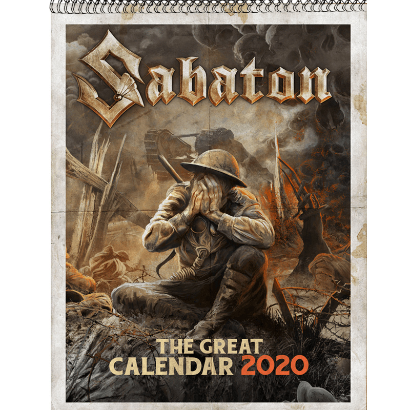 The Great Calendar 2020 Sabaton Front Cover