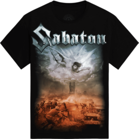 Angels Calling Sabaton T-shirt Frontside
