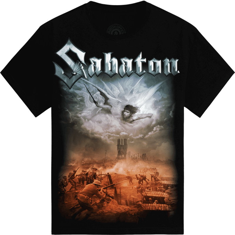 Angels Calling Sabaton T-shirt Frontside