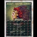 The Great Calendar 2020 Sabaton May Page