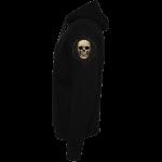 Barbed Skull Sabaton Non-zip Hoodie Sleeve Leftside