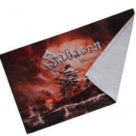 Bismarck Sabaton Hand Towel Folded