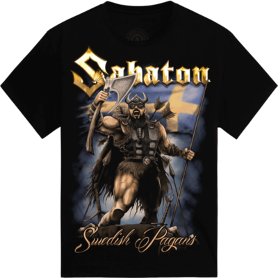Forged in Valhalla Sabaton T-shirt Frontside