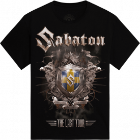 Orebro - Germany The Last Stand Tour 2017 Sabaton Exclusive T-shirt Frontside