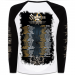 The Last Tour 2017 Sabaton Raglan Long Sleeve Shirt Backside