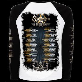 The Last Tour 2017 Sabaton Raglan Long Sleeve Shirt Backside