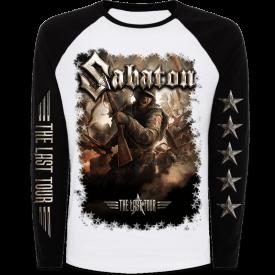 The Last Tour 2017 Sabaton Raglan Long Sleeve Shirt Frontside