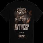 Antwerp - Belgium The Last Stand Tour 2017 Sabaton Exclusive T-shirt Backside