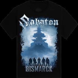 Bismarck 1 Year Anniversary Sabaton T-shirt Frontside